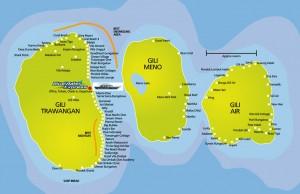 Bali gili eilanden